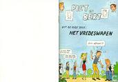 Bandes dessinées - Piet Pienter en Bert Bibber - Het vredeswapen
