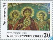 Postage Stamps - Cyprus [CYP] - Christmas Paintings