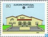 Postage Stamps - Azores - Europe – Post offices