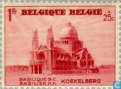 Timbres-poste - Belgique [BEL] - Basilique de Koekelberg