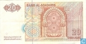 Banknotes - Morocco - 1996 Issue - Morocco 20 Dirhams 1996