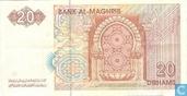 Billets de banque - Bank al Maghrib - Maroc 20 Dirhams