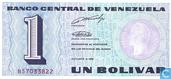 Billets de banque - Venezuela - 1989 Issue - Venezuela 1 Bolívar 1989