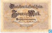 Bankbiljetten - Darlehenskassenschein - Duitsland 20 Mark