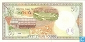 Banknotes - Syria - 1997-1998 Issue - Syria 50 Pounds 1998