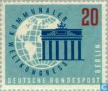 Timbres-poste - Berlin - Kommunaler Weltcontress