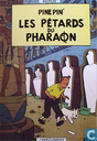 Poster - Comic books - VERKEERDE RUBRIEK --> STRIP-EXLIBRIS/PRENT Pine Pin - Les Pétards du Pharaon - Haschman