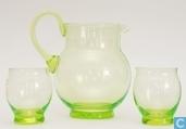 Glass / crystal - Kristalunie - Dante Waterstel vert-chine