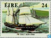 Postage Stamps - Ireland - Ships