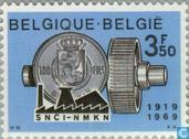 Postage Stamps - Belgium [BEL] - National Society for Industry credits