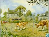 Postage Stamps - Guernsey - Agricultural and horticultural society 150 years