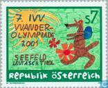 Postage Stamps - Austria [AUT] - Walking