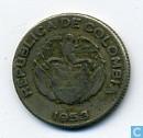 Colombia 10 centavos 1953