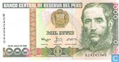 Peru 1000 Intis