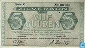 Banknotes - Zilverbon Nederland - Netherlands 5 guilder 1944