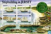 Postage Stamps - Jersey - Shipbuilding