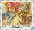 Postage Stamps - Austria [AUT] - Frescoes from the Baroque