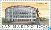 Timbres-poste - Saint-Marin - World Famous-Rome
