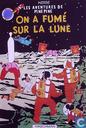 Affiches et posters - Bandes dessinées - VERKEERDE RUBRIEK --> STRIP-EXLIBRIS/PRENT Les Aventures de Pine Pin - On a fumé sur la Lune - Haschman