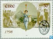 Timbres-poste - Irlande - Révolte 1798
