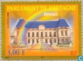 Postage Stamps - France [FRA] - Parliament Building in Rennes