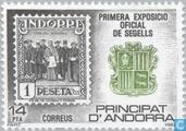 Briefmarken - Andorra - Spanisch - Nationale Briefmarkenausstellung