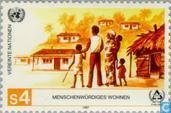 Postage Stamps - United Nations - Vienna - International Year decent living
