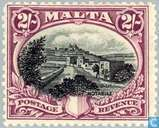 Postage Stamps - Malta - Inscribed POSTAGE & REVENUE