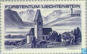 Postage Stamps - Liechtenstein - Stamp Exhibition Leba