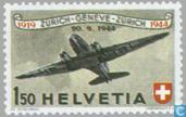 Timbres-poste - Suisse [CHE] - Airmail 25 années