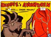 Comics - Duppie's avonturen - Een mantel ... zonder mouwen!