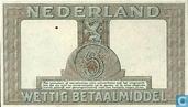 Billets de banque - Zilverbon Nederland - 5 florins hollandais 1944