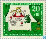 Postage Stamps - Berlin - Frog King