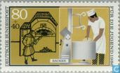 Postzegels - Duitsland, Bondsrepubliek [DEU] - Handwerkers