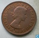 Elizabeth II Dei Gratia Regina F D (half penny)