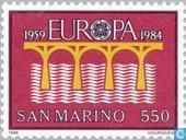 Postzegels - San Marino - Europa – Brug