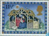 Timbres-poste - Grande-Bretagne [GBR] - Scènes de la Nativité-Noël