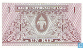 Billets de banque - Banque Nationale du Laos - Laos 1 Kip
