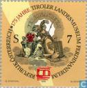 Postage Stamps - Austria [AUT] - 175 years Ferdinandeum