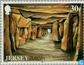 Postzegels - Jersey - Europa – Grote ontdekkingen