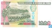 Banknoten  - Banco Central de Reserva del Perú - Peru 1000 Intis