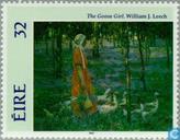 Briefmarken - Irland - Gemälde