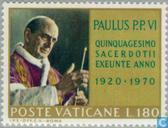 Timbres-poste - Vatican - Paus Paulus VI