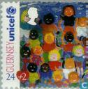 Timbres-poste - Guernesey - UNICEF 1945-1995