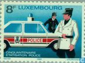 Municipalité de police 50 années