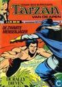 Strips - Tarzan - De zwarte mensenjager + De rallydieven