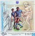 Postage Stamps - Greece - World Cup Soccer