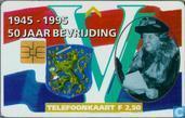 Bevrijding 50 jaar (Wilhelmina)