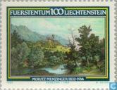 Timbres-poste - Liechtenstein - Menzinger, Moritz 150 années