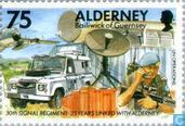 Postzegels - Alderney - 30e Signal Regiment